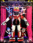 UnMolten Freddy Showcase - [FNAF 6 FFPS] by ChuizaProductions