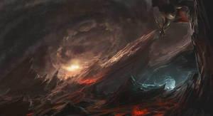 hell by Guang-Yang