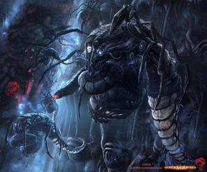 dominance war IV-Cyborg by Guang-Yang