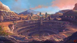 Minerals War by Guang-Yang