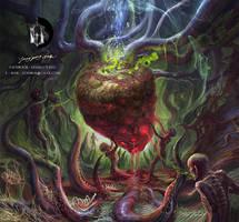 Maggot Colony by Guang-Yang
