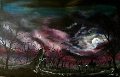 Moonlightwolfattack by Lenning