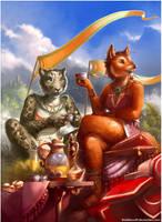 Chai Tea by BubbleWolf