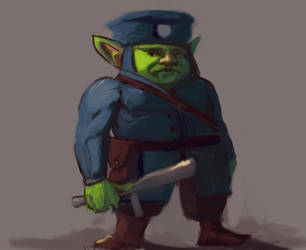 Goblin Police by vaka9