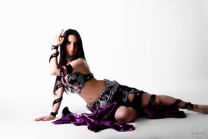 Purple Belly Dance Stock 08 by LoryenZeytin
