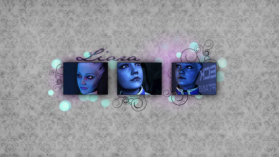 Liara Tsoni Wallpaper By Rainbowxplague On Deviantart