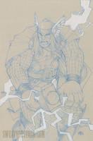 Thor by Sweatybuffalo