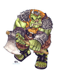 Gamorrean Guard by Sweatybuffalo