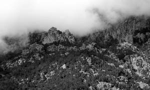 Mountain in the clouds by maradong