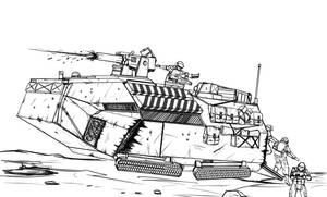 RAI-7 'Butterbox' Advanced Personnel Carrier by Dehzinn