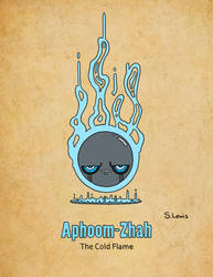 Aphoom-Zhah - The Cold Flame by StephenLewisArt
