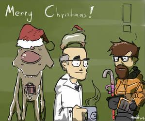 A Half-Life Holiday by Araiguma