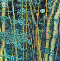 Moonlight Forest by LynneHendersonArt