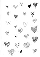 Image pack hearts brushes by stardixa-resources