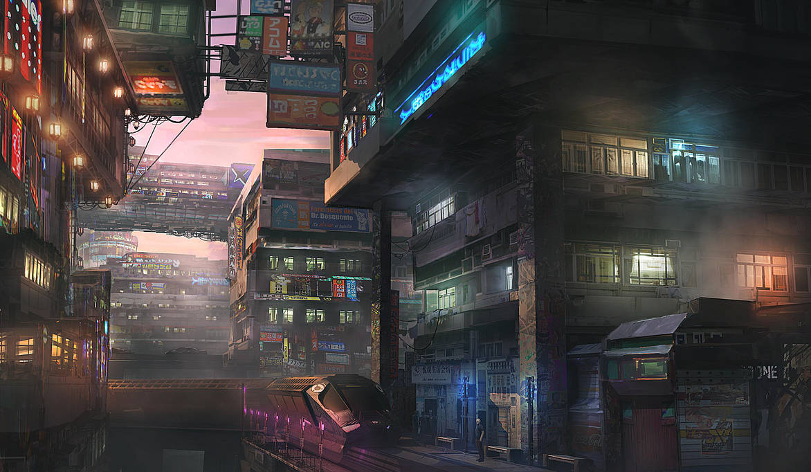 Tokyo Shinjuku 2093 by M-Delcambre ...