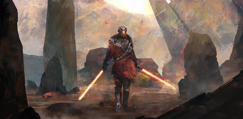 Sith Lord / Star Wars / Destiny by M-Delcambre