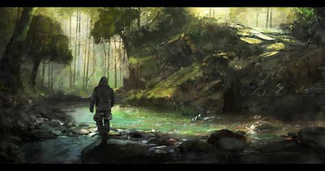 The Secret Cave by M-Delcambre