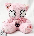 Candy Kitten by splitmindplush
