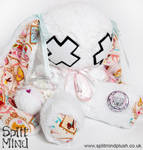 Pink Diamond Bunny by splitmindplush
