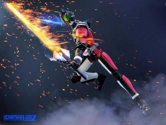 SHF Kamen Rider Decade Dual Wielding Swords by darwislimz