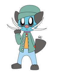 Gabe the Dewott by The9Lord