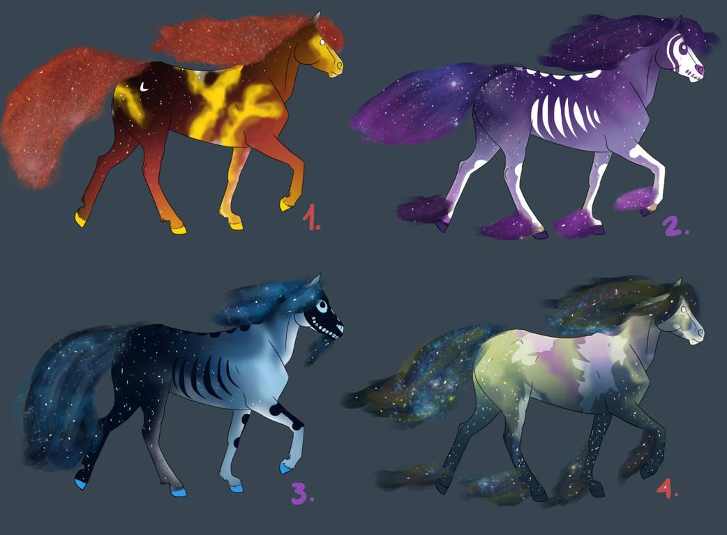 Galaxy Horse Adopts By Mustang Adopts On Deviantart