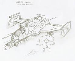 F-92 Wendigo A/X Light Fighter by Chris000
