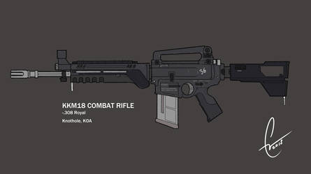 KKM18 Combat Rifle - Chaos Chronicles by Chris000