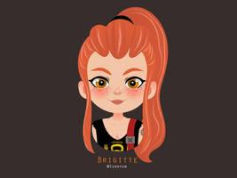 Brigitte (Overwatch) Vector by Isahyun