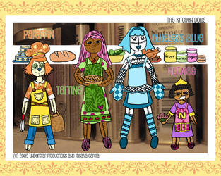 KITCHEN DOLLS: The Four by StarryRose