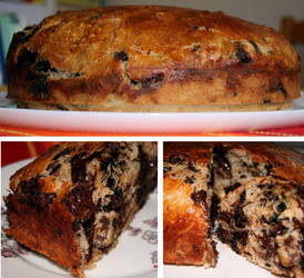 Chocolate Bread by licrydis