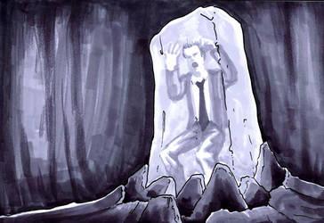 David Blaine by Singing-fetus