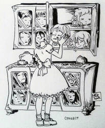 Inktober: COLLECT by Hellenor