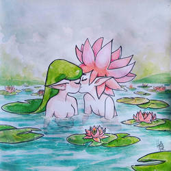 Lily pad by Hellenor