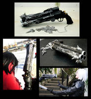 cosplay prop: Cerberus by eamilia