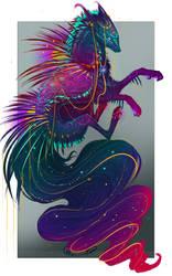 QuillDog Lesser Deity: The Soul's Shield by MischievousRaven
