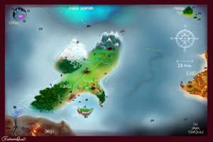 MischievousRaven's Map! by MischievousRaven
