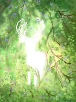 Cervid Spring by MischievousRaven