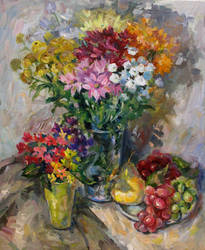 Frit flowers by PrusRuslan