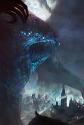 Shub-Niggurath by moonxels