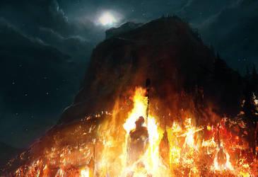 FIELD of FIRE by moonxels