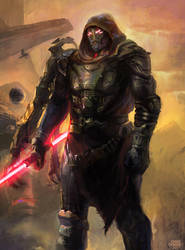 SINISTER - a Dark Lord of the Sith. by moonxels