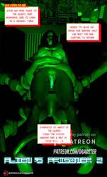 Wonderfu Gril aliens prisoner II by thegagster