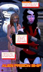 Alien prison ship 01 by thegagster