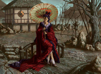 Yogo Fox-wife by AndyHep