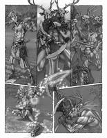 dragon blooded comic page by AndyHep