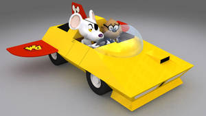 Danger Mouse and Penfold - 01 by IDW01