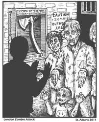 In Case of Zombie Apocalypse by SaintAlbans