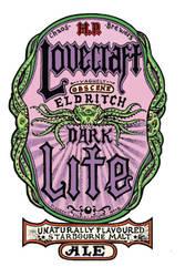 Lovecraft Dark Lite Beer by SaintAlbans