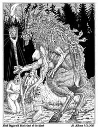Shub NIggurath by SaintAlbans